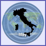 Map of Italy icon