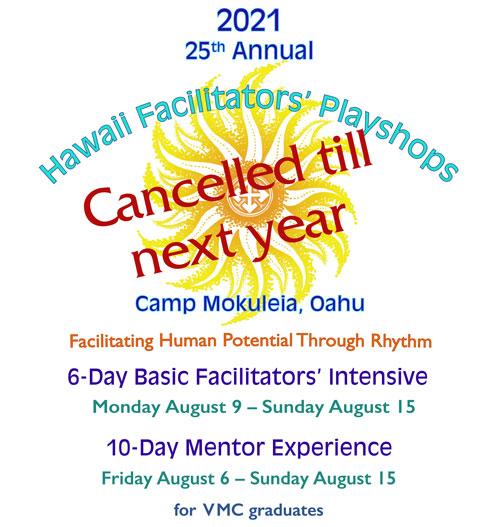 VMC Hawaii playshop 2021 cancelled