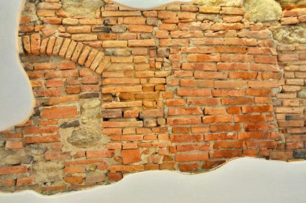 Old Brick wall Italy
